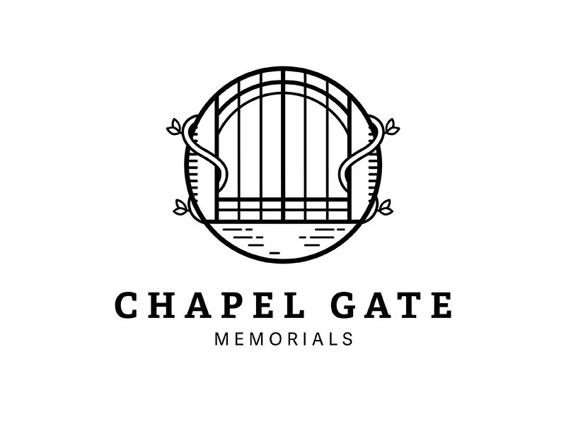 chapel gate logo detailed gate logos and identity design