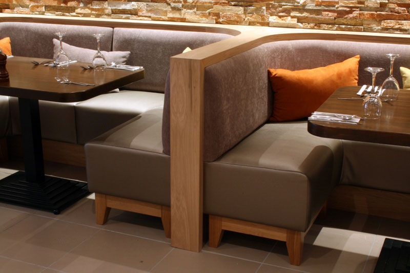 Image Result For Wooden Restaurant Dining Bench Restaurant Booth