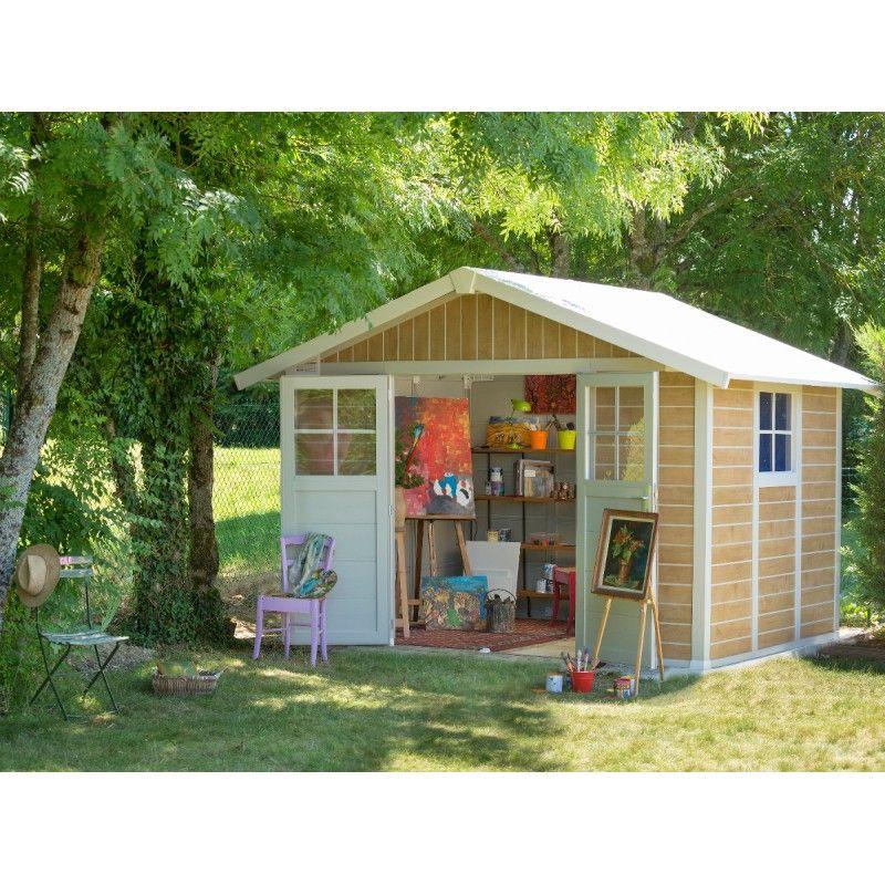 High Quality Abri De Jardin En PVC 7,5m² DECO Sherwood Grosfillex + Kit Ancrage Offert  Sur · Garden ShedsPvcGarageGarden ...