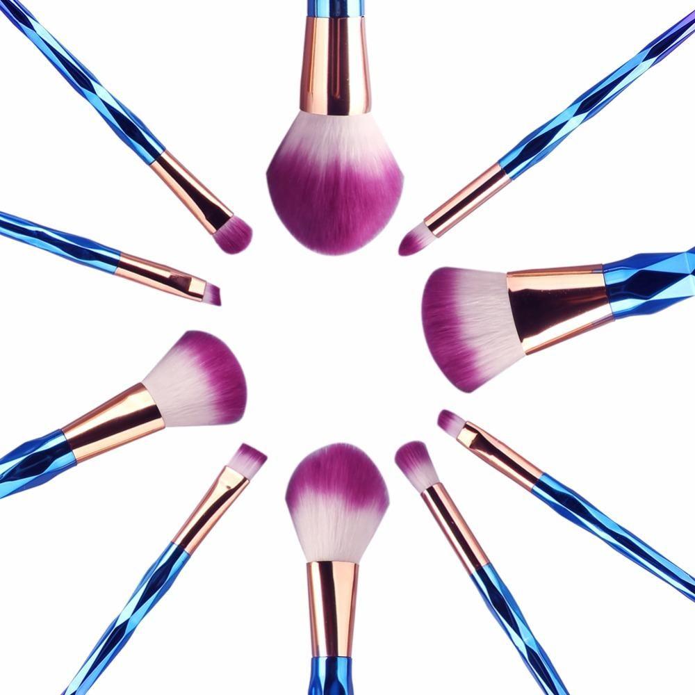 Unicorn Makeup Brush Sets Brushes Set C Toothbrush Slimsoft Ch 1s