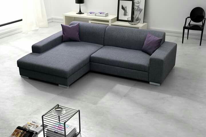 Florenzzi sofa rozkladana Catalina grey Meble i akcesoria - designer ecksofa lava vertjet