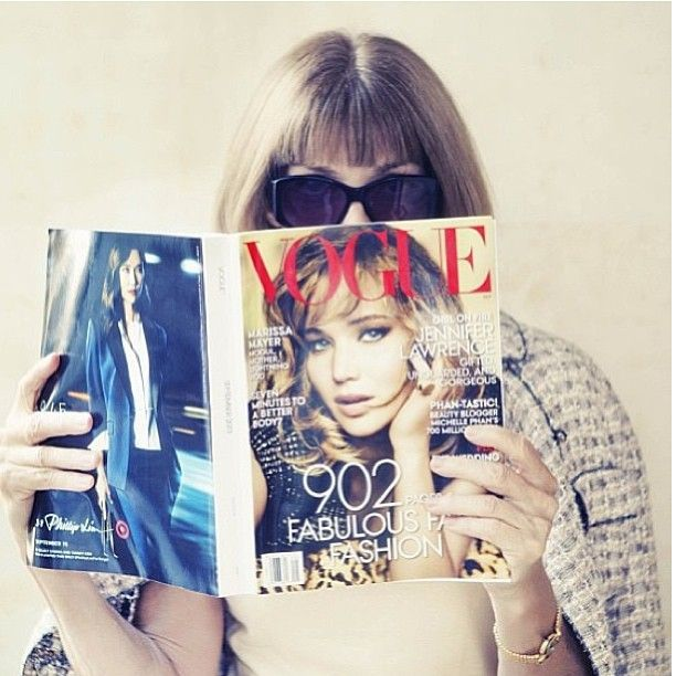 anna wintour and magazine vogue