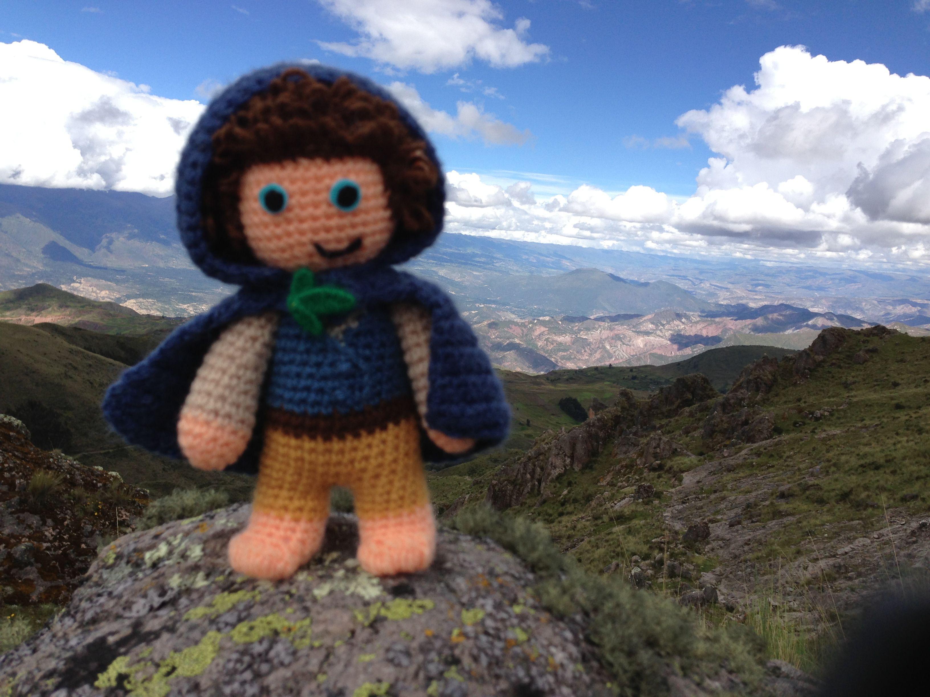 Ruta Qhapac Ñan Huancavelica-Ayacucho, al fondo vista de Huanta, ahi tenemos que llegar.