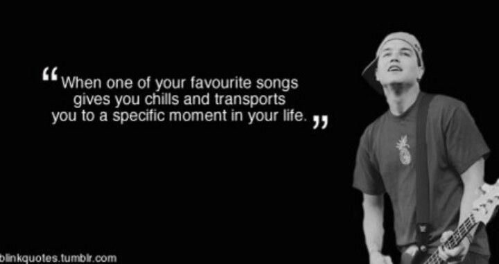 Mark Hoppus Quotes: Music Quotes, Band