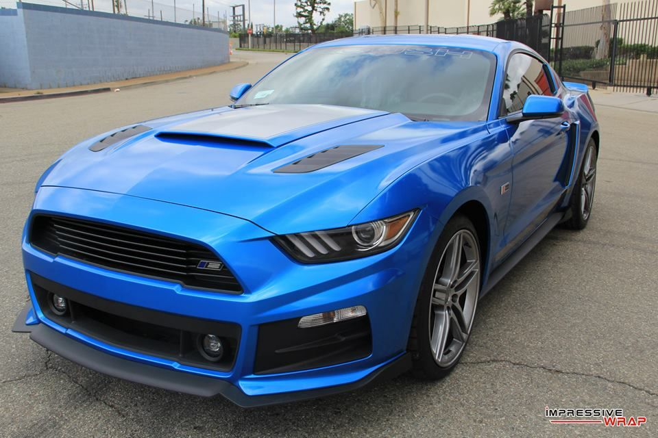Magnificent Roush Mustang RS2 in Gloss Metallic Blue