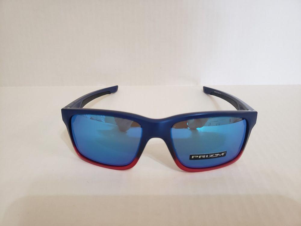 811f8bbeb64 Oakley Mainlink Sunglasses 009264-3257 Blue Pop Fade Frame Prizm Sapphire  Lens  fashion  clothing  shoes  accessories  mensaccessories ...