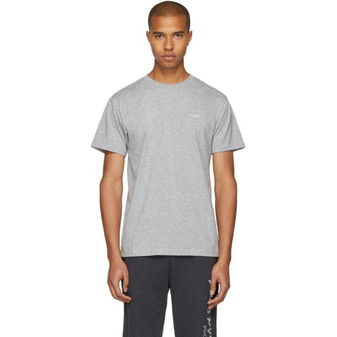 f71abe577881b4 032C Grey Crystal Logo T-Shirt.  032c  cloth
