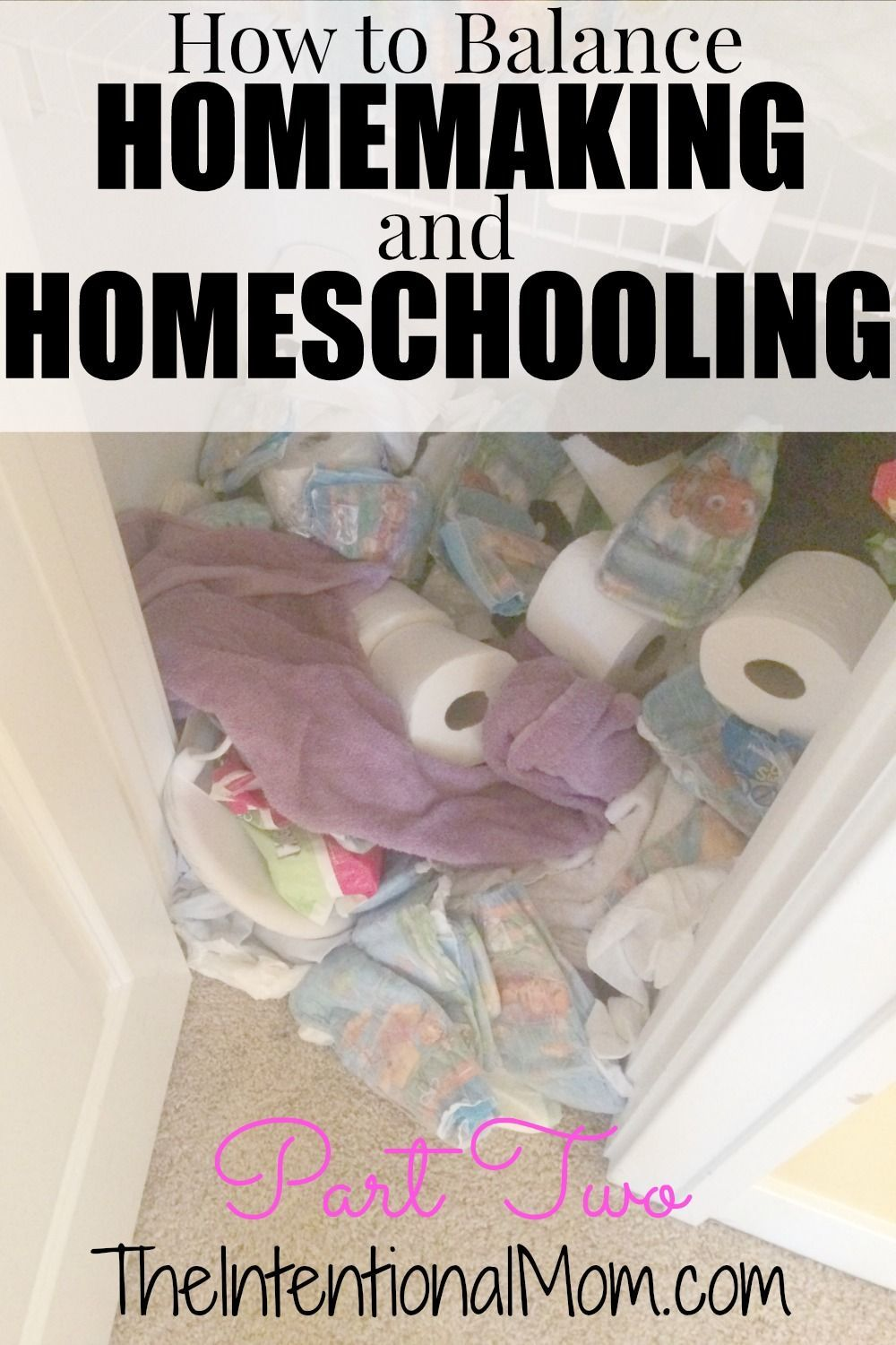 Is It A Struggle To Balance Homemaking And Homeschooling In Your
