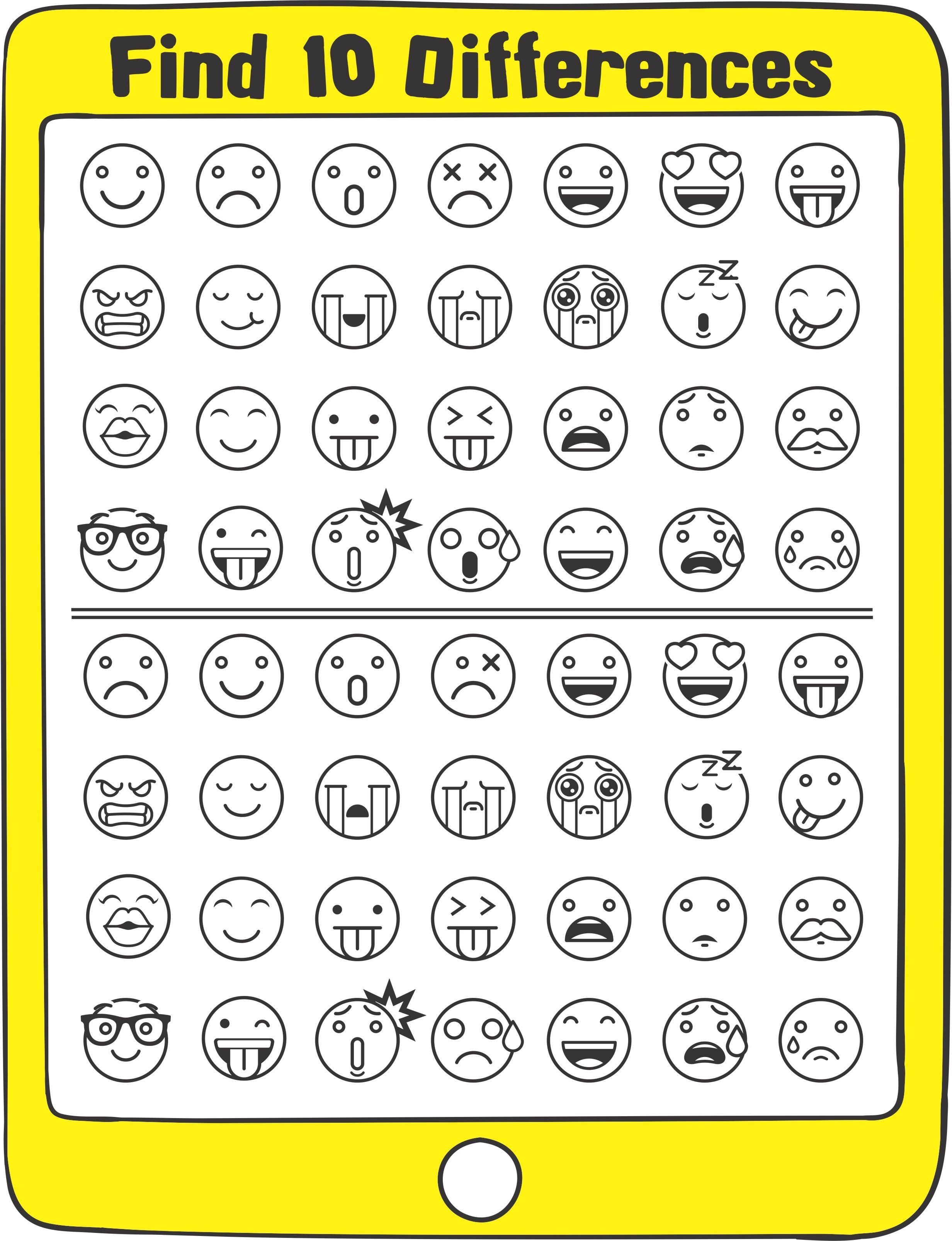 Emoji Games And Puzzles Packet In