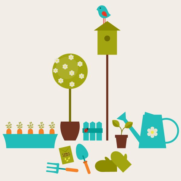 Create A Garden Scene With Basic Shapes In Adobe Illustrator Tutorial Graph Illustrator Tutorials Photoshop Illustration Tutorial Adobe Illustrator Tutorials