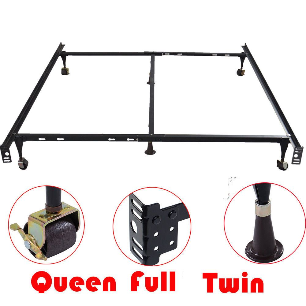 Best Adjustable Bed Frames Queen Full Twin Size Metal Support 640 x 480