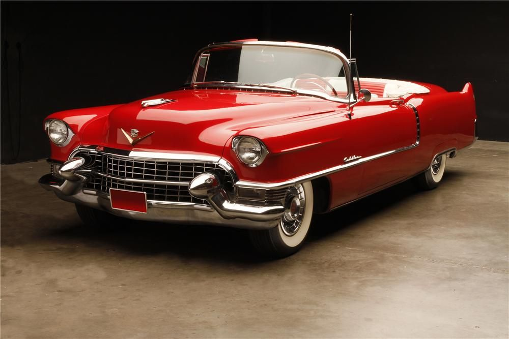 1955 CADILLAC SERIES 62 CONVERTIBLE – Barrett-Jackson Auction Company – World's Greatest Collector Car Auctions