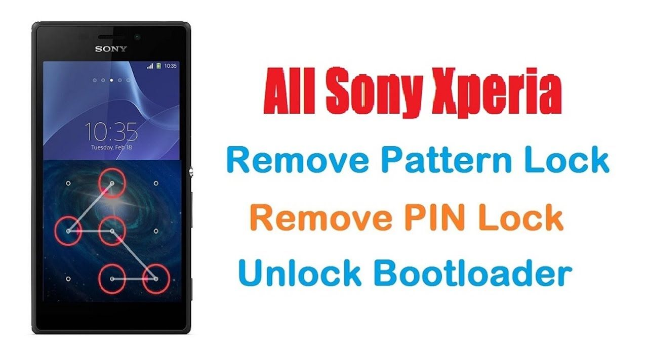 Sony Xperia Pattern Lock Pin Lock Remove Using Flashtool Easy