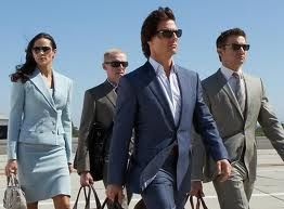 Tom Cruise (Ethan Hunt) - That 'Blue Suit' from Mission