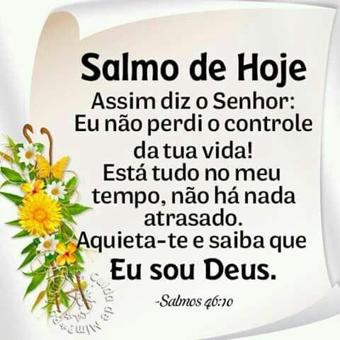 Salmos 46 10 Aquietai Vos E Sabei Que Eu Sou Deus Sou