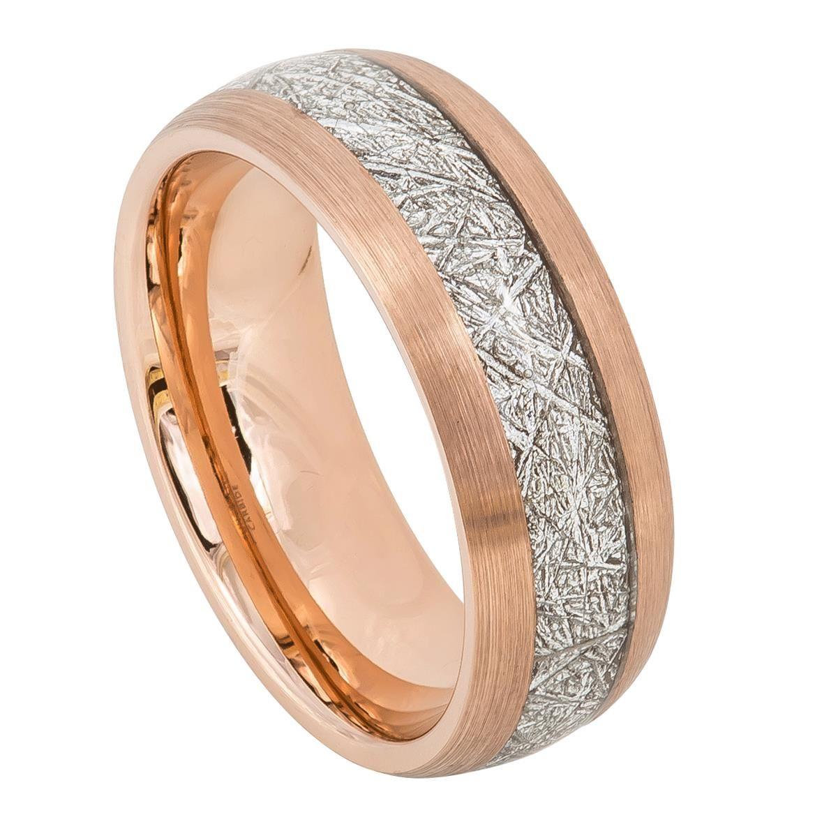 Pin von Elman Jewelry auf Tungsten Wedding Rings by EJW