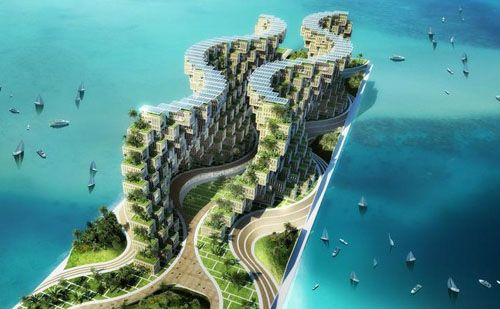 Futuristic Green City   Google Search · Futuristic ArchitectureSustainable  ...