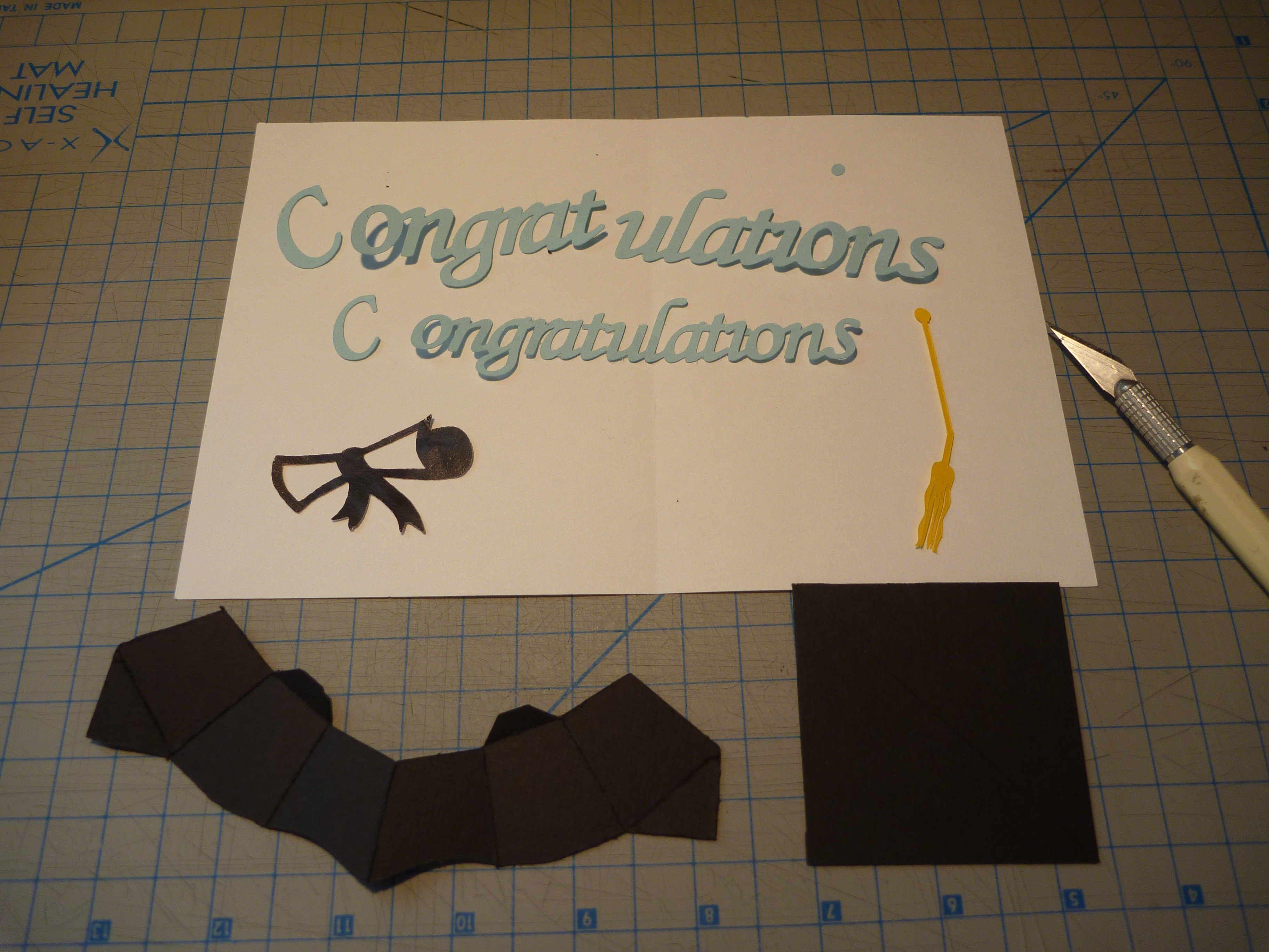 Graduation Pop Up Card 3d Cap Tutorial Creative Pop Up Cards For Graduation Pop Up Card Template Cumed Or Pop Up Cards Pop Up Card Templates Card Template