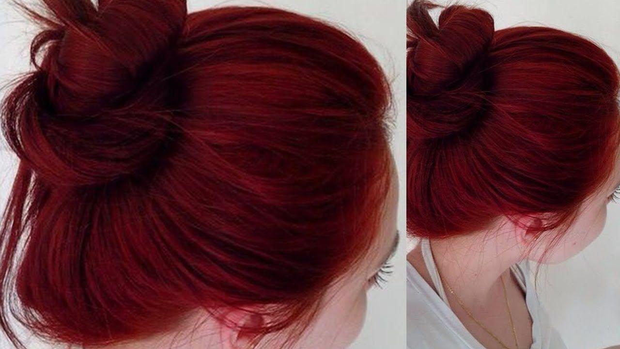 صبغة طبيعية للشعر باللون الأحمر الأكاجو بدون كيماويات لون شعر تحفة من Home Health Care Home Health Health