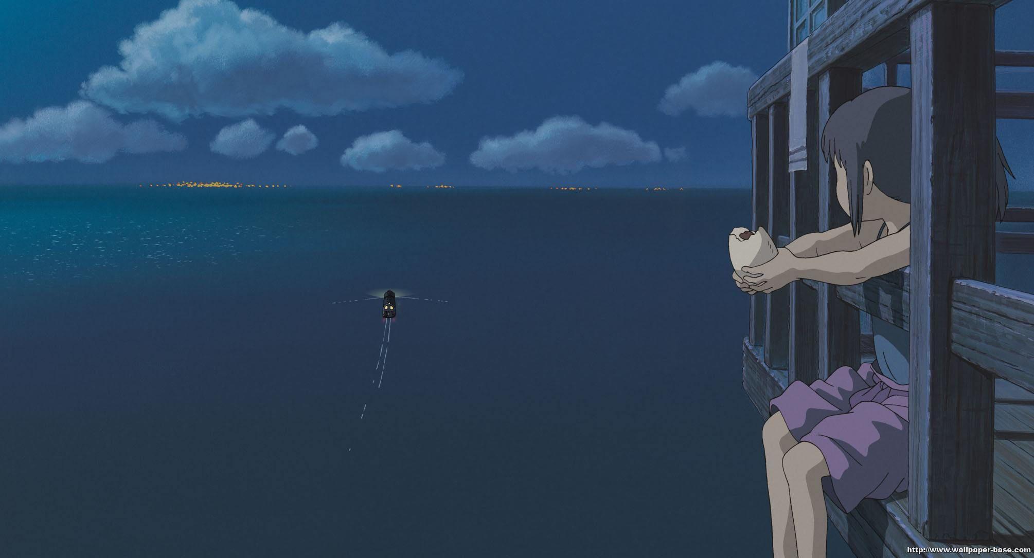 Spirited Away Le Voyage De Chihiro Fond D Ecran Pc Paysage Manga