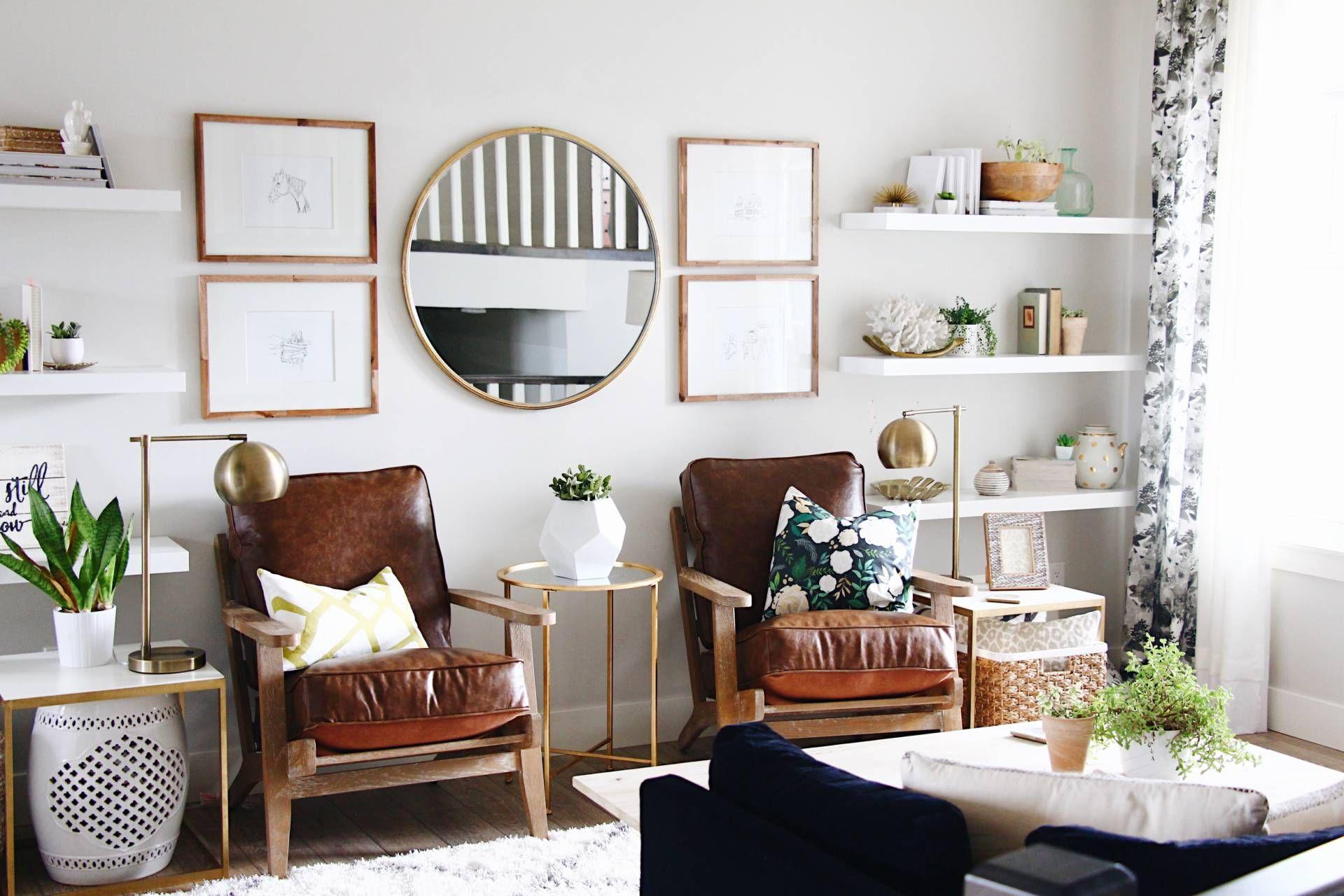 Easy living room transformation with Urban Barn   Living   Pinterest ...