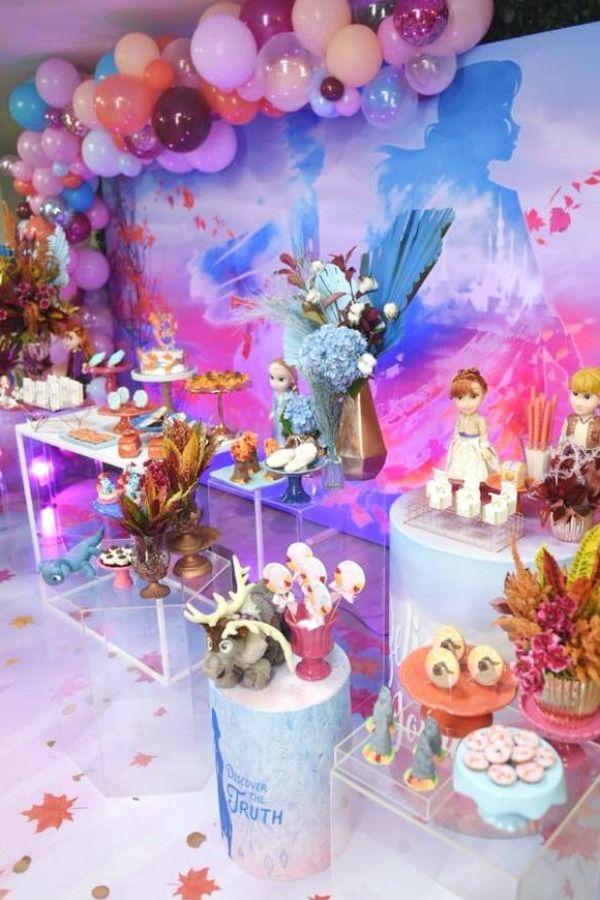 Pin On Frozen Birthday Party Ideas