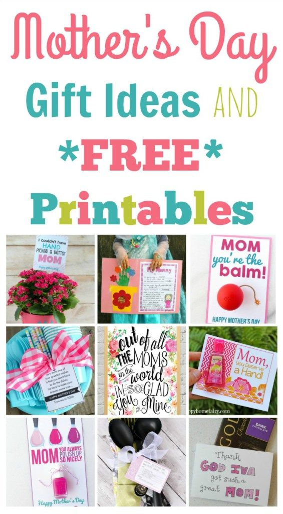 Quick And Easy Mother S Day Gift Ideas And Printables Happy Home Fairy Mother S Day Gift Card Inexpensive Mother S Day Gifts Happy Home Fairy