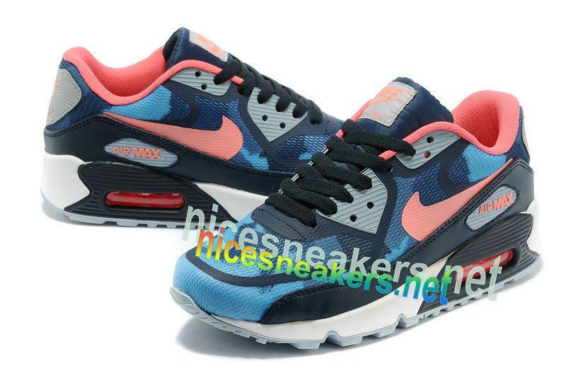 Nike #Air #Max 90 Premium Tape Dark Blue Orange Camo #Blue