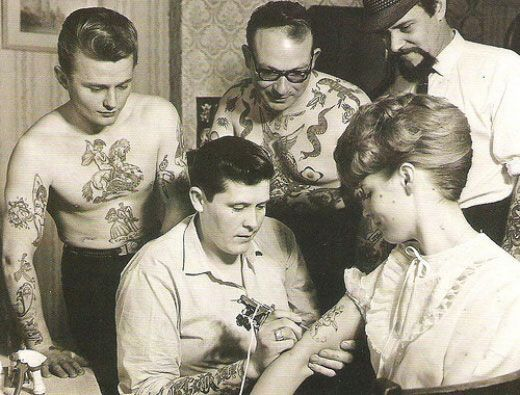 Vintage tattoos! (28 photos in the link)