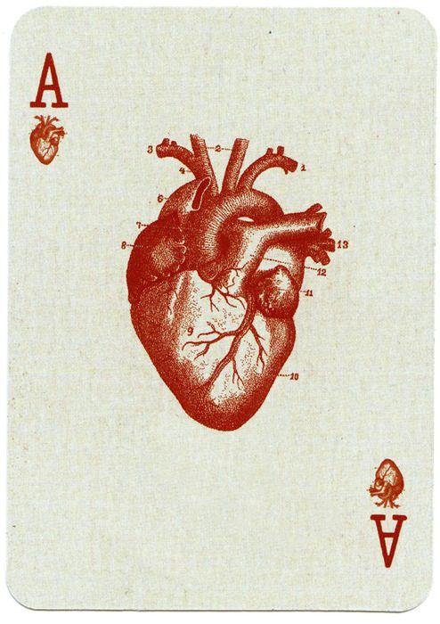 35++ Tatouage carte as de coeur ideas