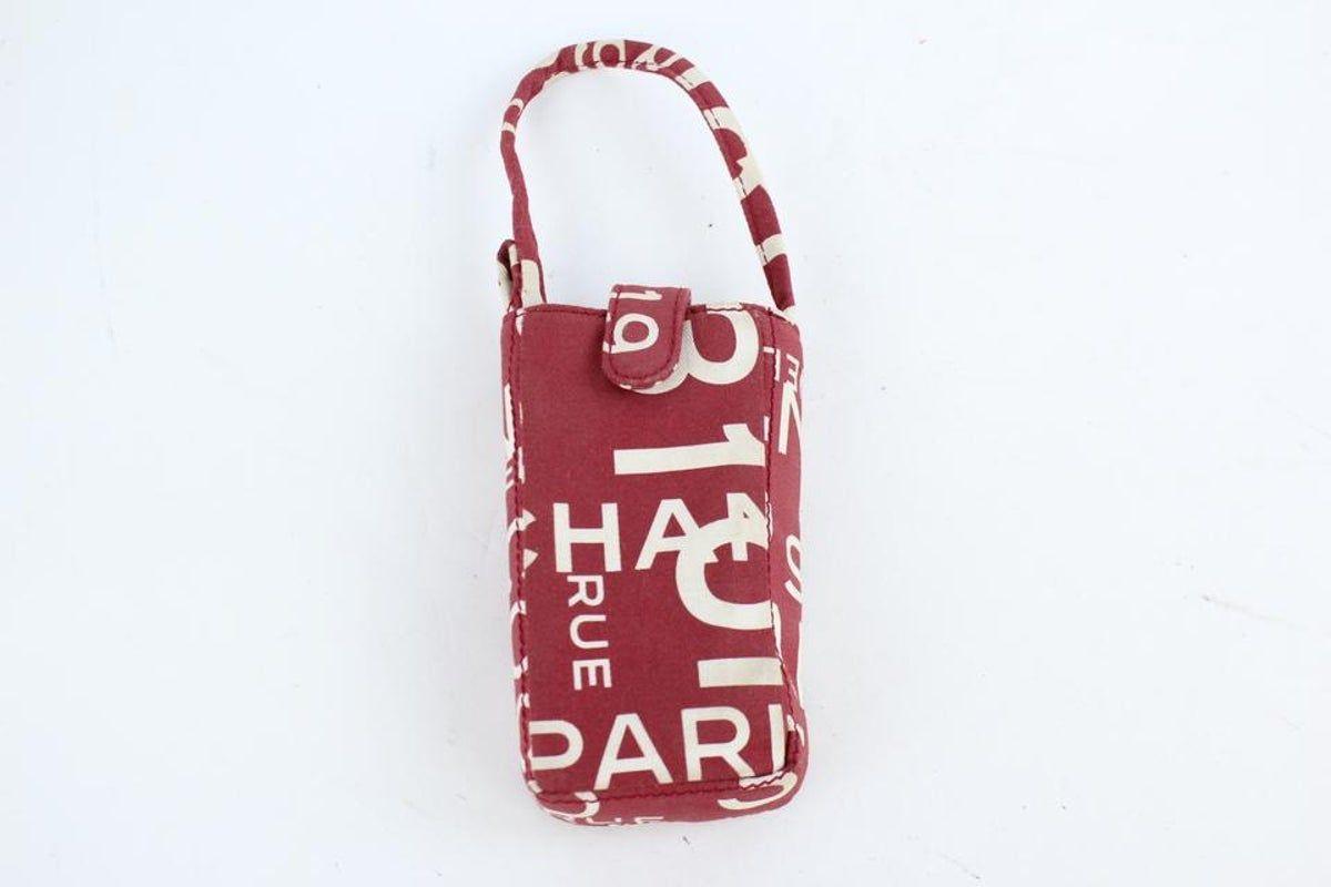 Chanel Red Mobile Case Mini Bag 21CK0927