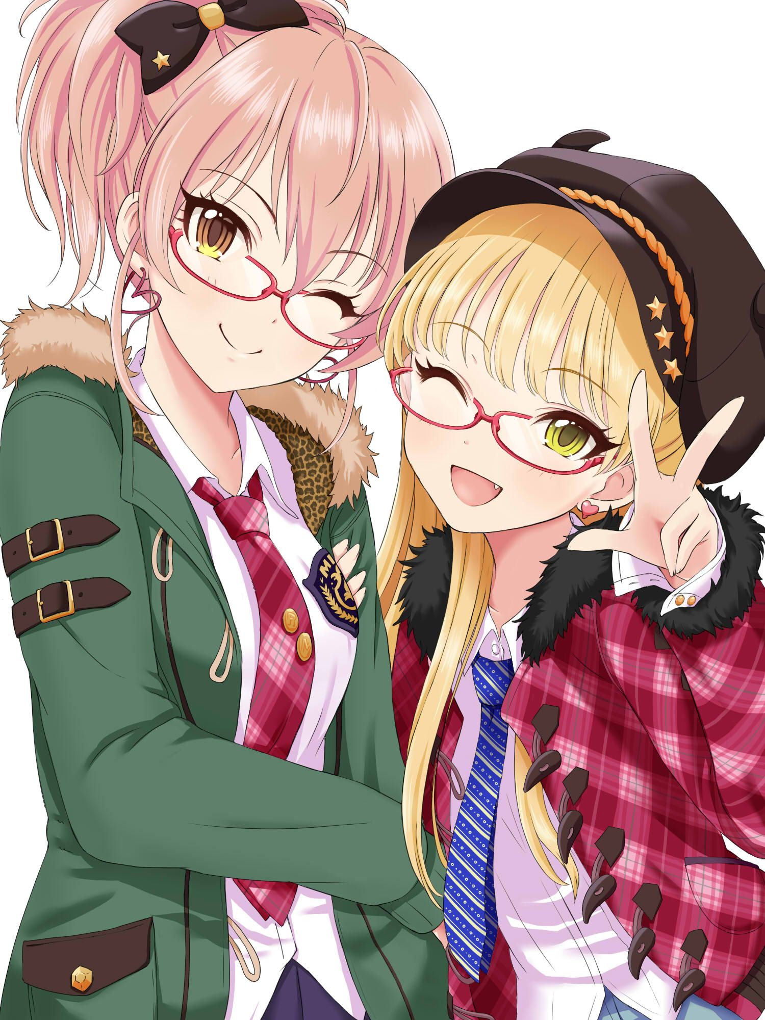 Mika and Rika anime Pinterest