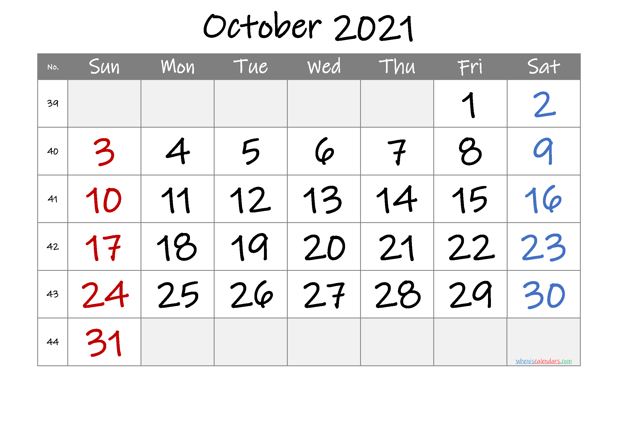 Printable October 2021 Calendar Free Premium In 2020 Calendar Printables Printable Calendar Design Printable Calendar July
