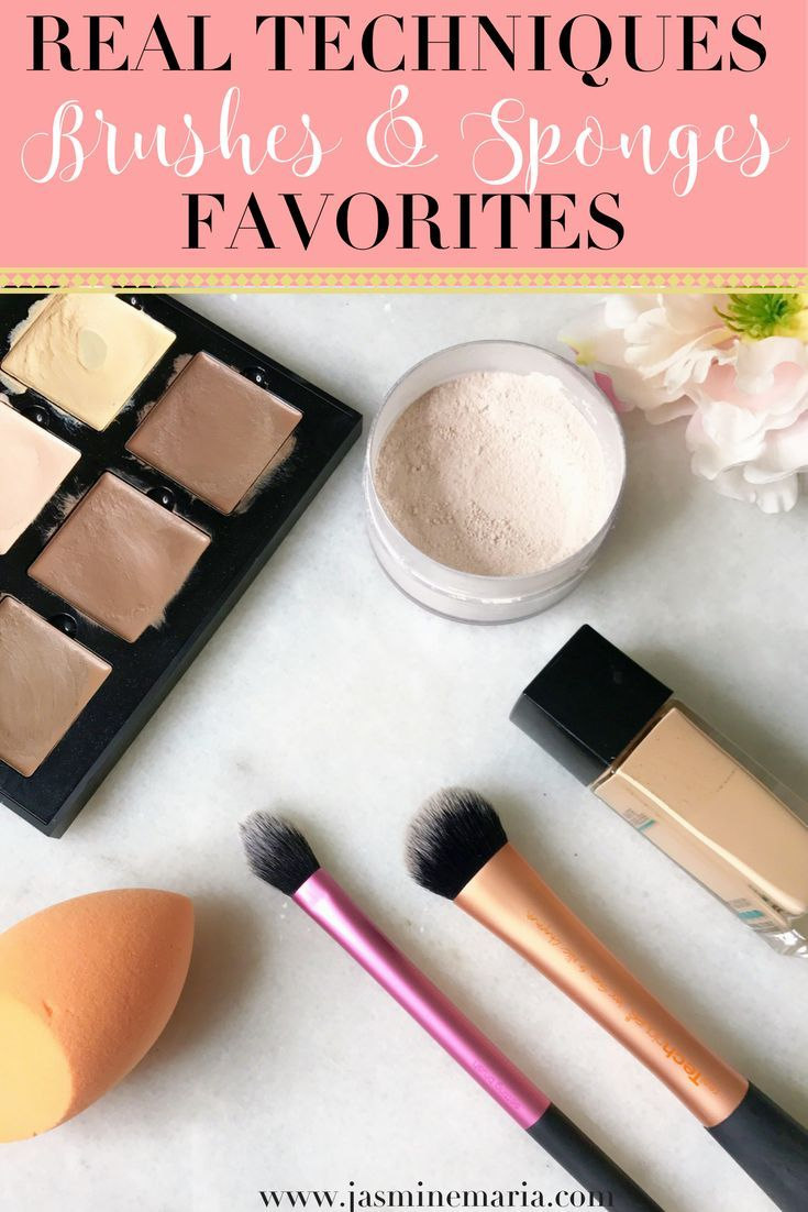 Real Techniques Brushes & Sponge Favorites (With images