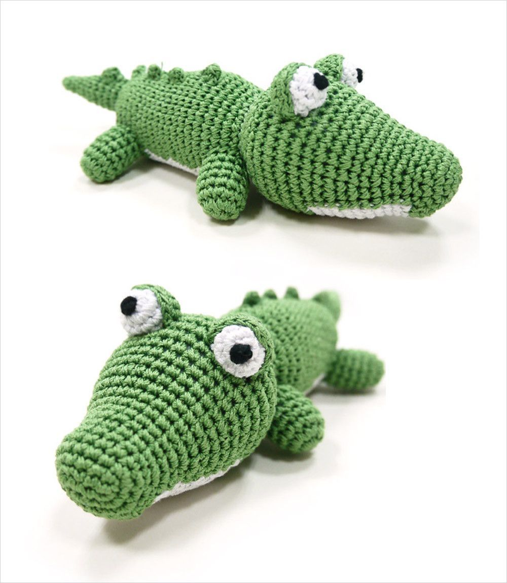 Alligator Crochet Dog Toy | Products | Pinterest | Häkeltiere