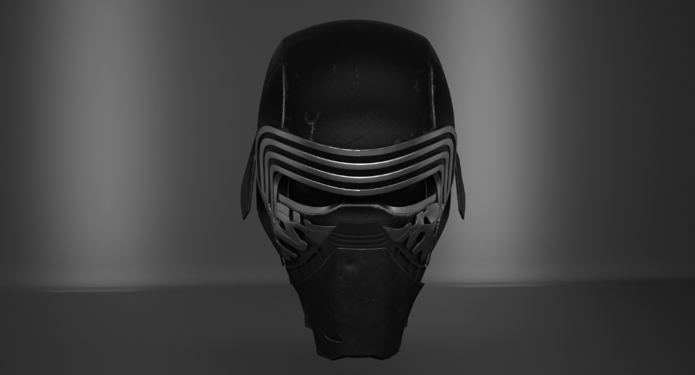 3ds Kylo Ren Helmet Kylo Ren Helmet Kylo Ren Helmet