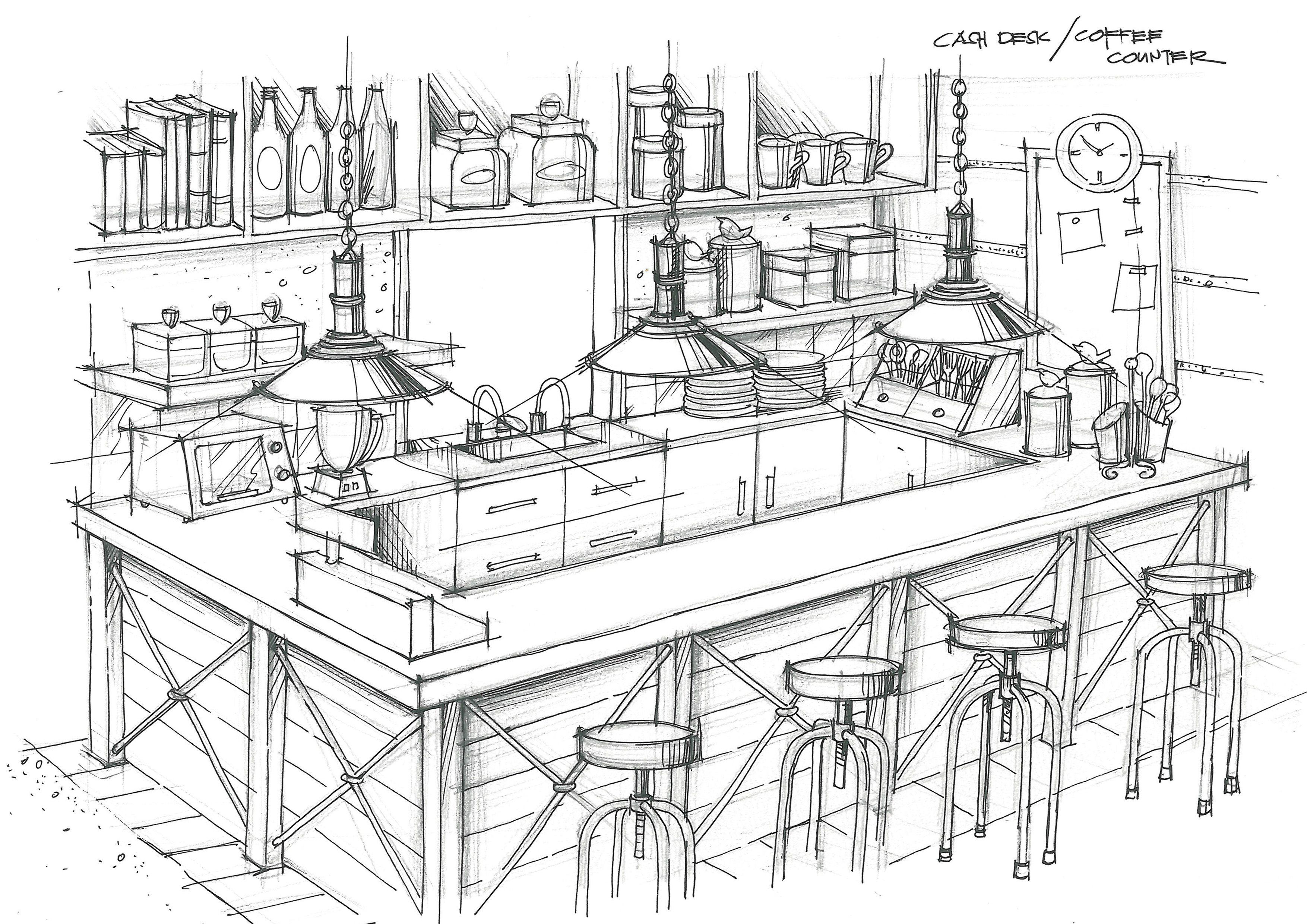 Cash desk mini bar Room Ideas Pinterest