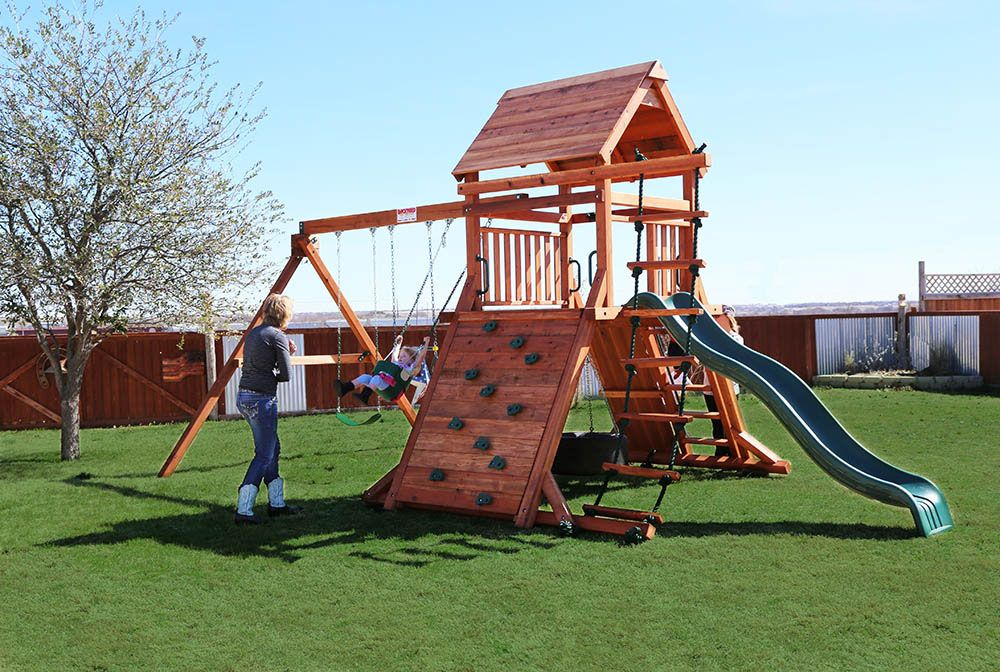 Swingset Toy Warehouse Backyard Playset Backyard Swing Set