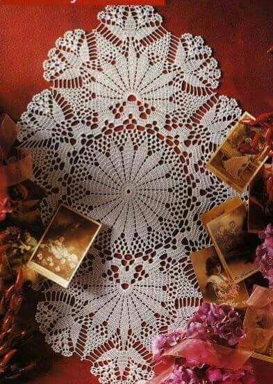 Pin von Just Dee auf Crochet Doilies Oval | Pinterest