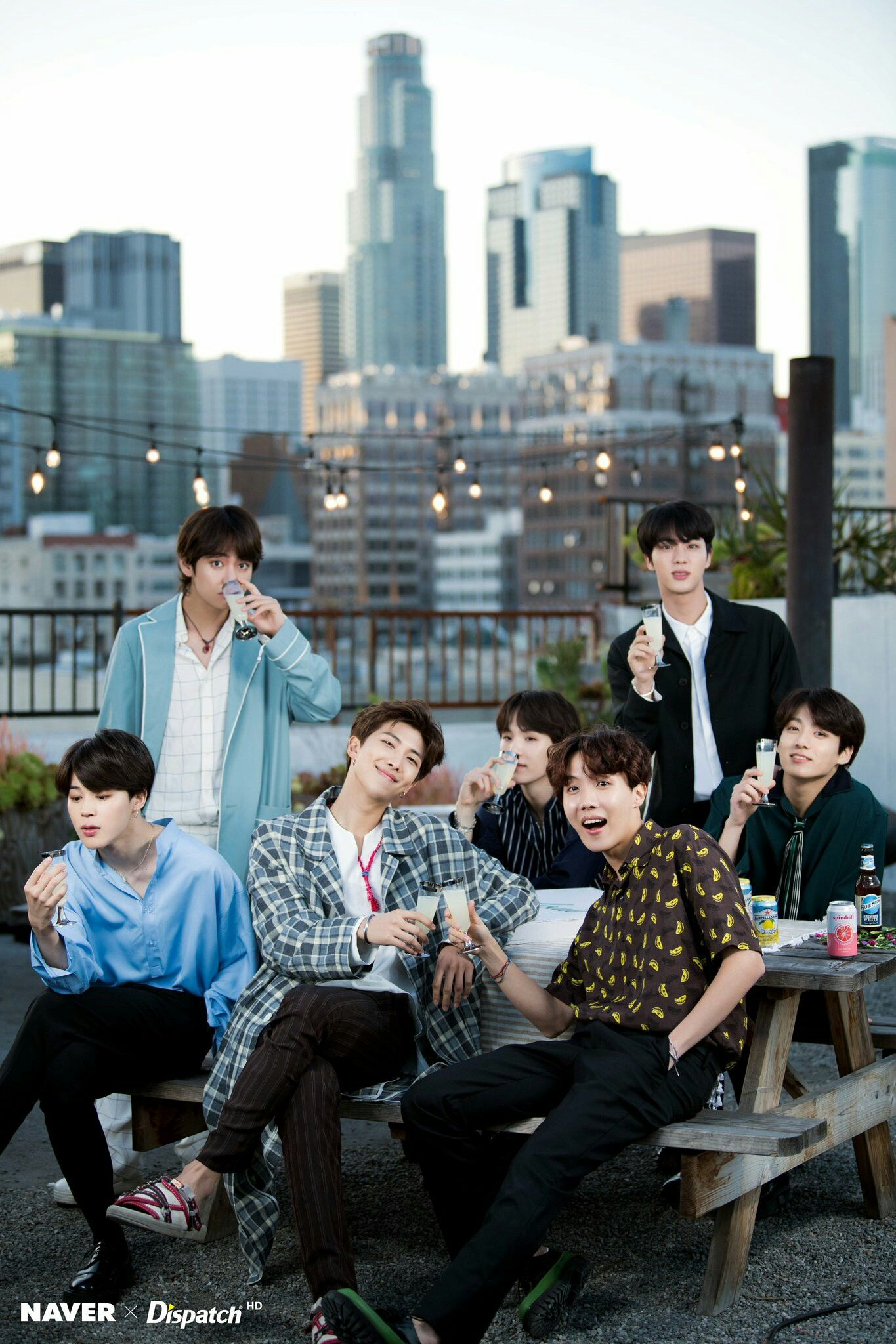 Naver X Dispatch Bts 5th Anniversary Party Bts 2018 Bts Imagens Bts