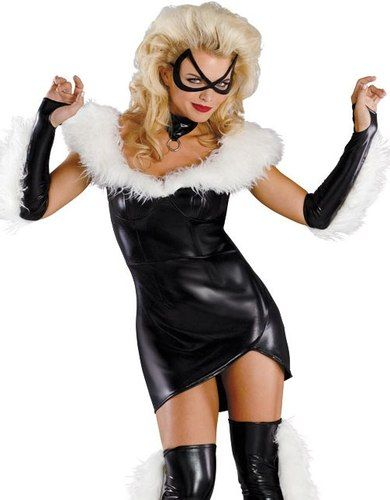 black cat spider man a black cat costumessexy halloween