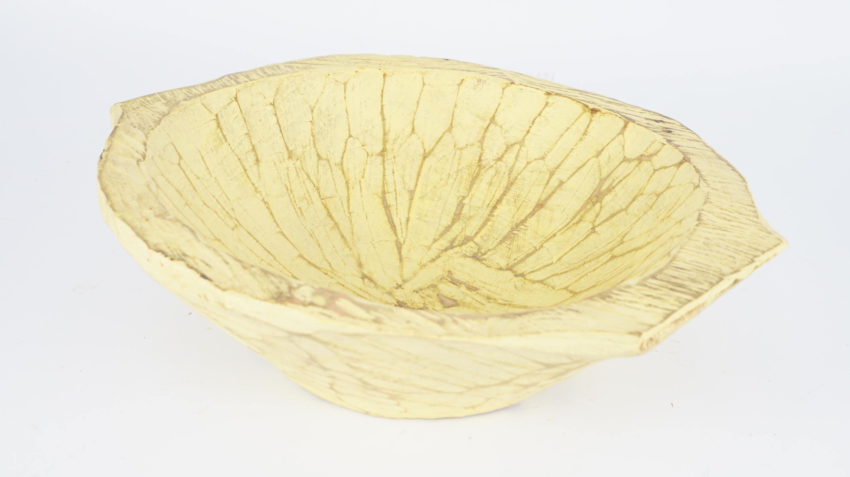 Chubster Deep Dough Bowl-Batea-Wood-14-17W x11-13L-Pure White-Newborn Prop