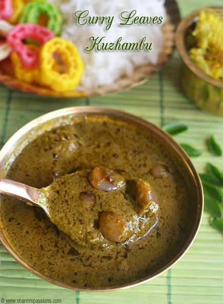 Curry leaves kuzhambu curries pinterest curry leaves curry curry leaves kuzhambu forumfinder Gallery