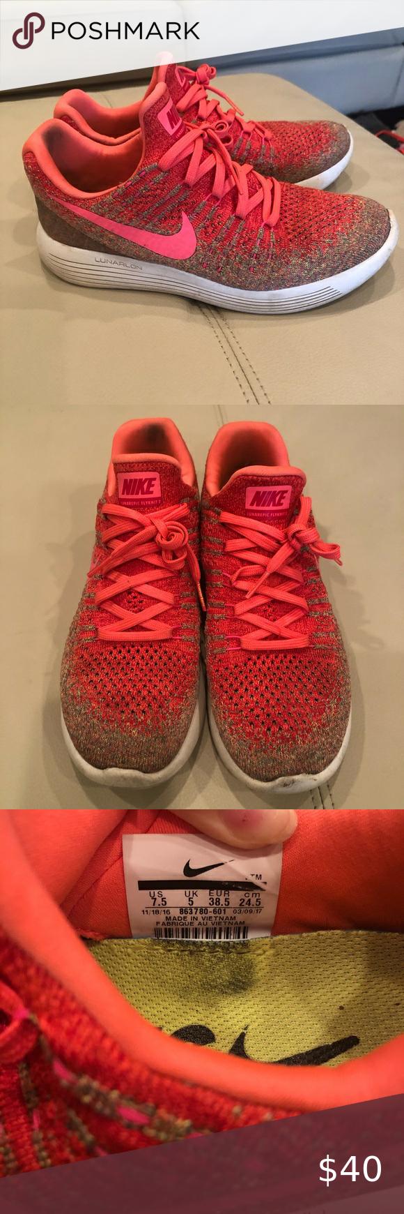 Nike lunarlon sneakers in 2020