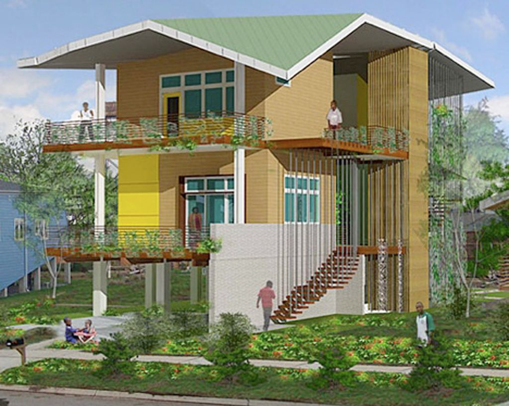 Getting Modern Sustainable House Plans through Brad Pitt Sustainable ...