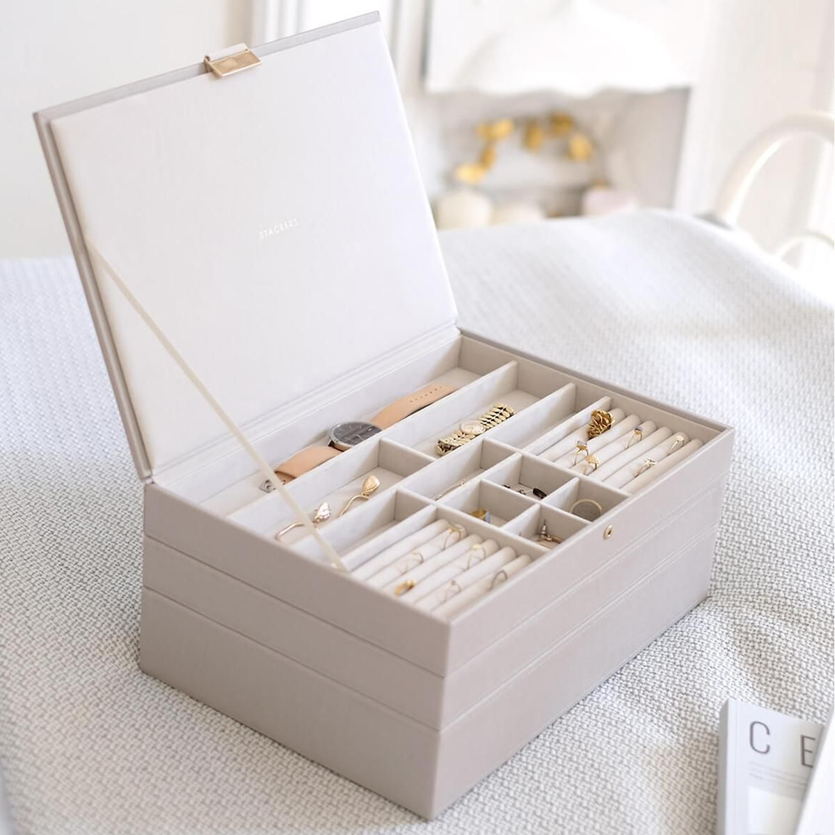 18+ Jewelry box the container store info