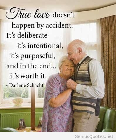 Old People Quotes Extraordinary True Love Image With Old People Quote On Wallpaper  Quotes