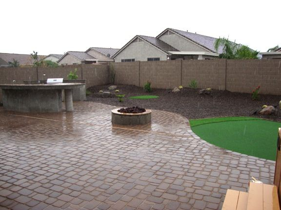 Az Landscape Ideas Arizona Backyard Arizona Backyard