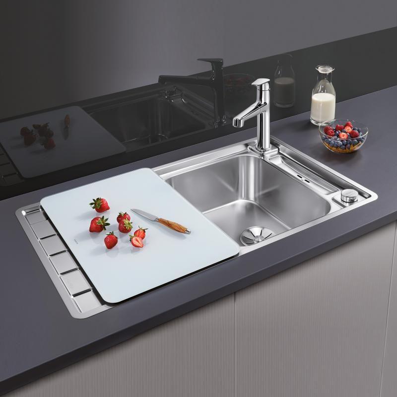 Blanco Axis Iii 45 S If Spule Edelstahl Seidenglanz Kitchen