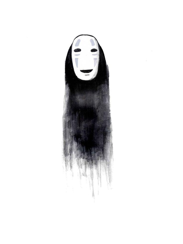 Image result for no face spirited away tattoo